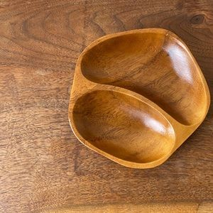 Small Wooden Dish / Catch All Tray